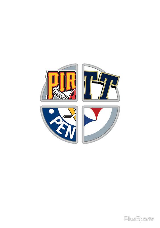 Pittsburgh Pro Sports: Steelers, Pirates, Penguins and University of Pittsburgh Panthers by PlusSports