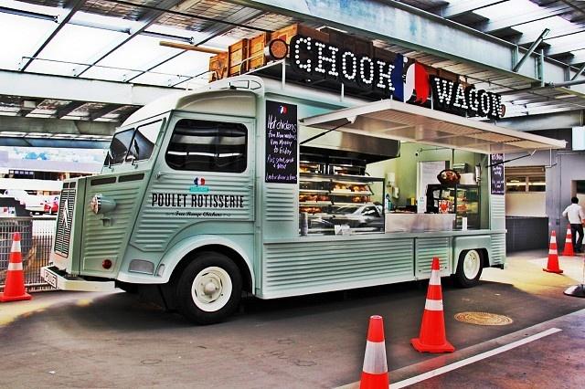 Moore Wilsons Chook Wagon
