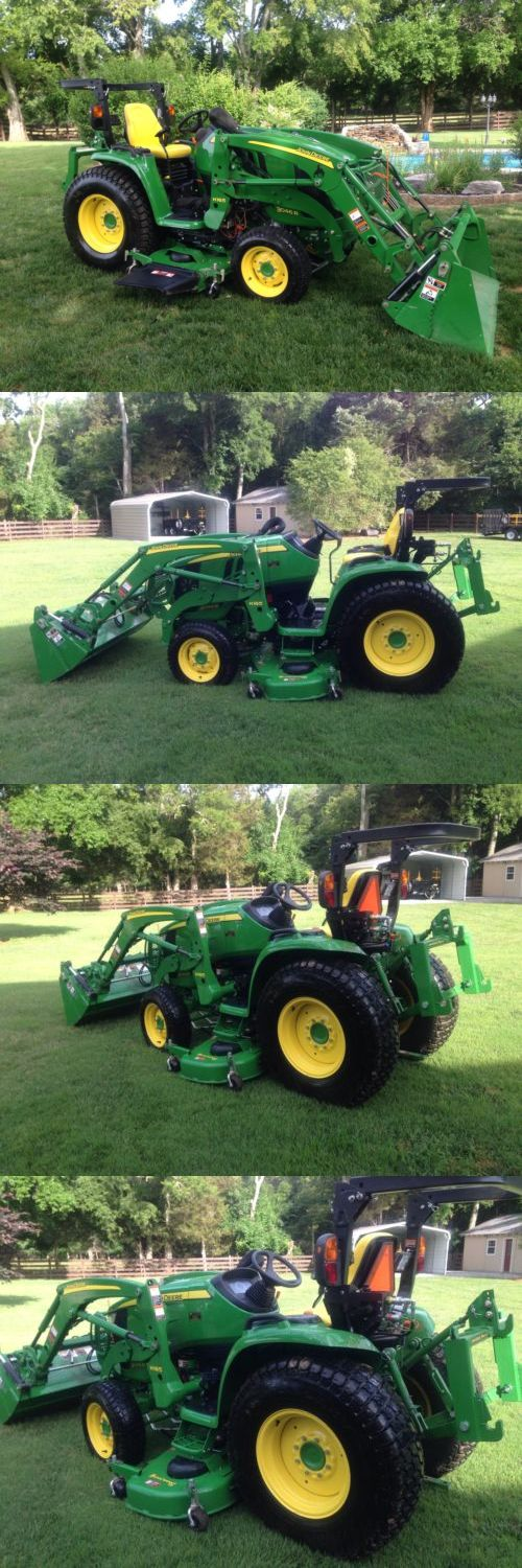 2014 John Deere 3046R Compact Utility Tractor H... - Exclusively on #priceabate #priceabateHeavyEquipments! BUY IT NOW ONLY $34000