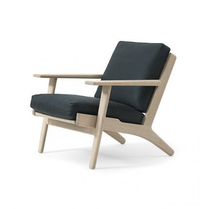 Wegner Classic 290 Easy Chair Designer: Hans J Wegner Manufactured by:  GetamaThe Wegner Classic 290 Easy Chair is available here with cold foam  cushions.