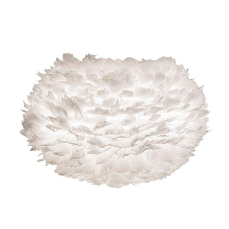 Eos Lampskärm 45 cm, Vit, Vita
