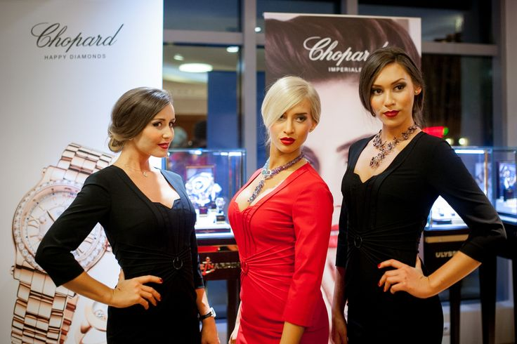 Chopard Red Carpet Collection event - Budapest, 2015