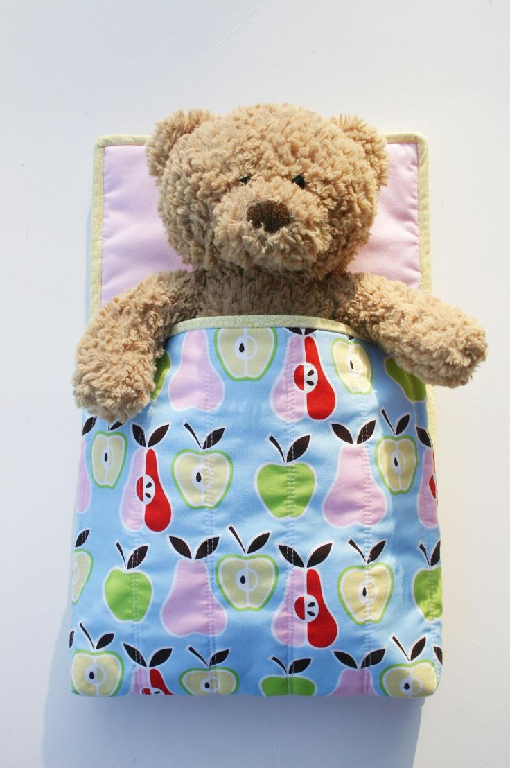 Doll and Teddy Sleeping Bag Initial Design