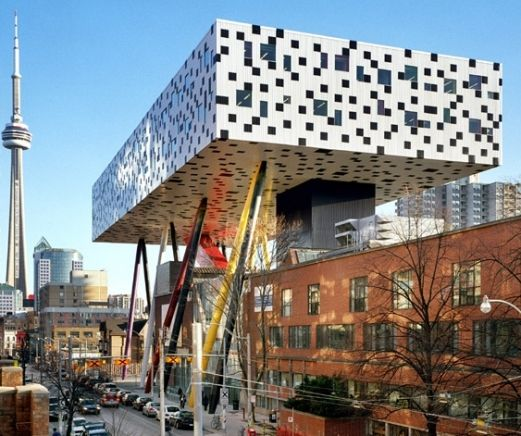 Another great view of OCAD University.
