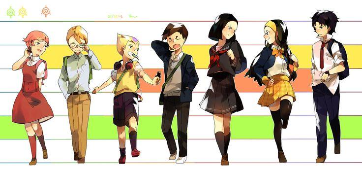 school days by rrrui.deviantart.com on @DeviantArt