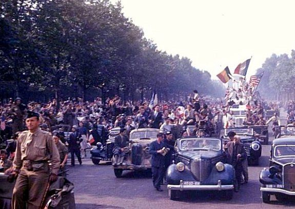 Liberation of Paris; August 25, 1944