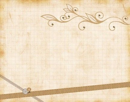Paper Vintage Ribbons Ppt Backgrounds Powerpoint Backgrounds