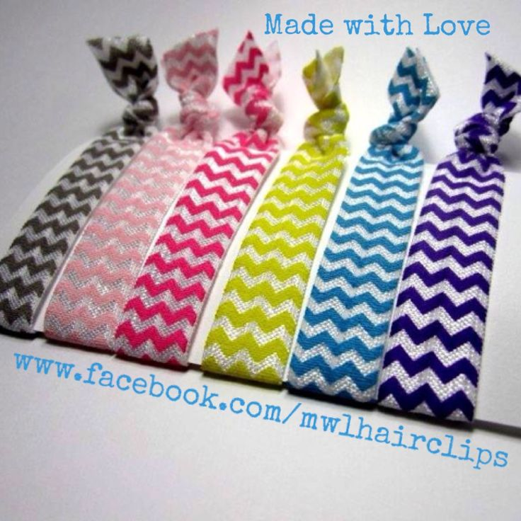 Elastic hair ties- the new craze! Love these:)