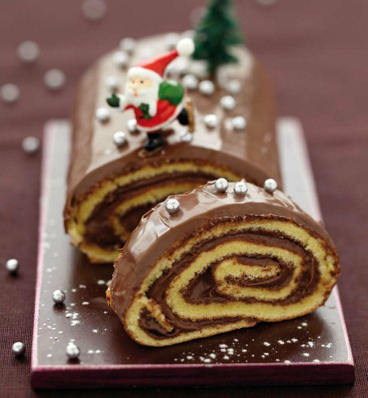 b che au nutella b che pinterest nutella recettes noel et desserts de no l. Black Bedroom Furniture Sets. Home Design Ideas