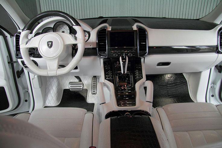 Anderson Germany White Dream Porsche Cayenne Turbo 958 custom SUV