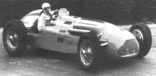 #20 Eugene Chaboud (Fra) - Talbot Lago T26C (Talbot 6) engine (11) Ecurie Lutetia