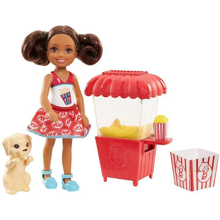 Barbie club Chelsea popcorn doll
