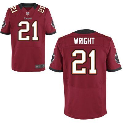 fce849444 ... New Nike Buccaneers 21 Eric Wright Nike Elite Jersey Red Team Color NFL  Jersey httpwww.