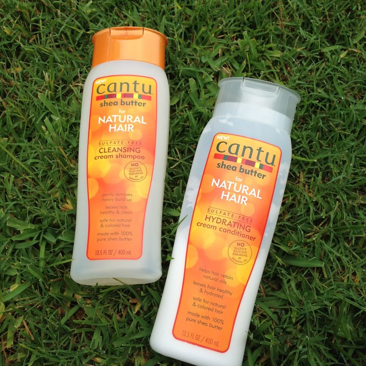 """Review of Cantu Natural Hair Shampoo and Conditioner 