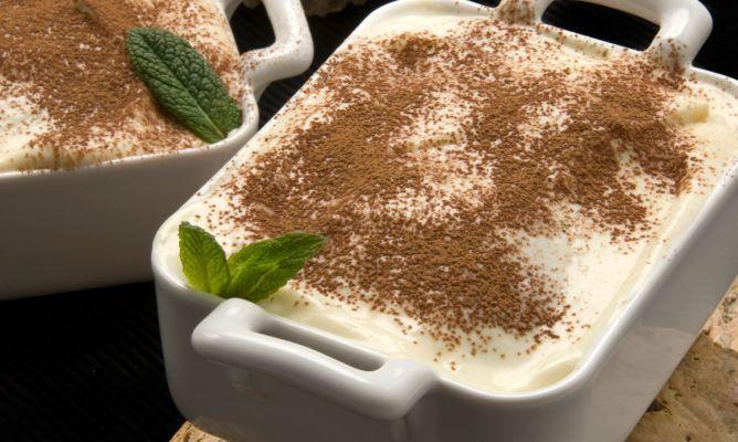 Receta de Tiramisú con leche condensada