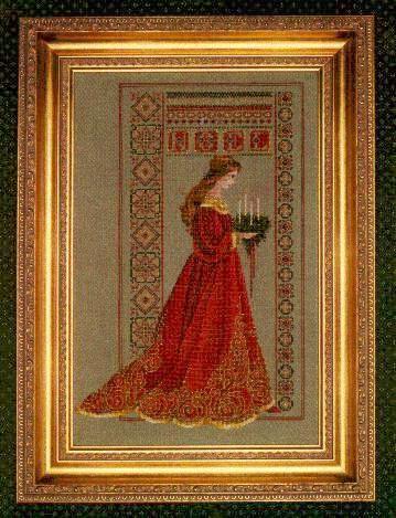 >Вышивка крестом схемы Кельтские женщины Celtic Christmas. Обсуждение на LiveInternet - Российский Сервис Онлайн-Дневников
