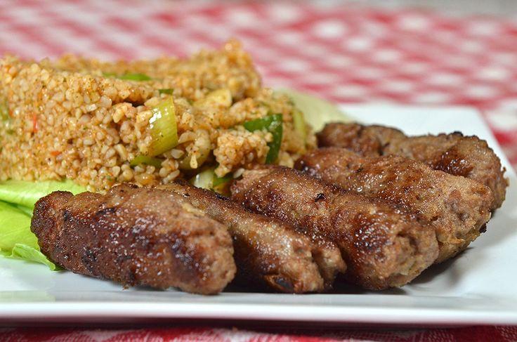 Kisir - török búzadara (bulgur) saláta - Piroskockás