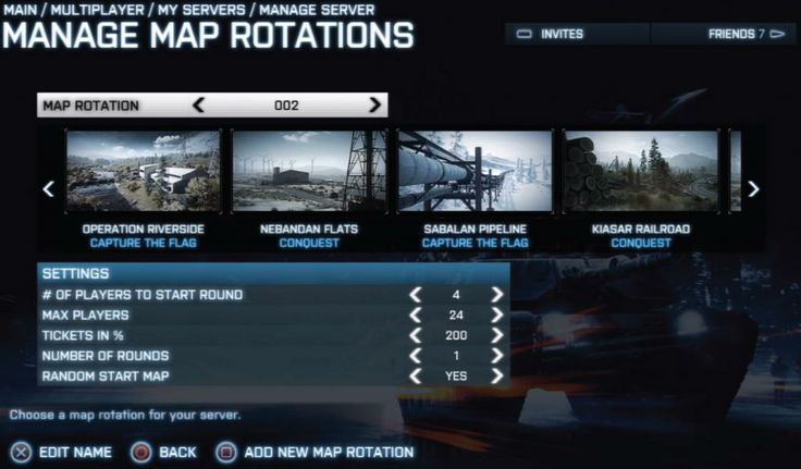 Battlefield UI Screen Example