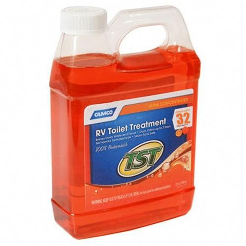 Camco 41192 Tst Ultra Concentrated Liquid 32 Oz Harness The Power Of Citrus To Stop Odors And Break Down Waste In Your R Camco Odor Eliminator Septic System