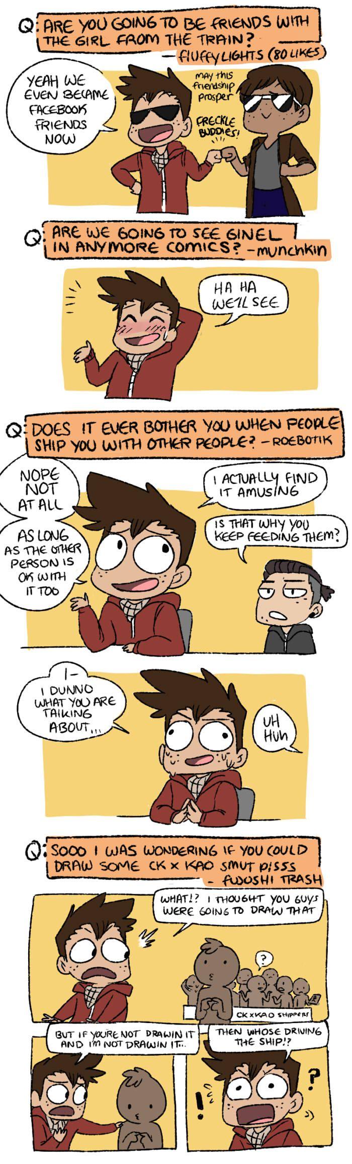 Mondo Mango :: Q&A Part 2: Relation[SHIPS] | Tapastic Comics - image 2