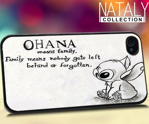 Lilo and stitch quote  iPhone 4/4s/5 Case  by NatalyCollections, $15.00