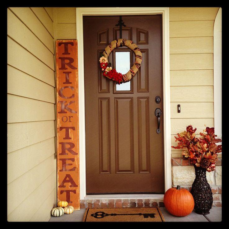 Fall Decor. Wooden sign. #fall