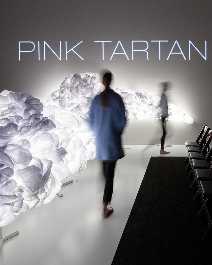 Pink Tartan Runway