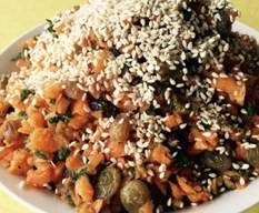 Recipe Moroccan Carrot Salad by Soph Wright - Recipe of category Side dishes
