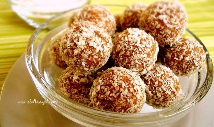 Za ljubitelje kokosa! Odlične čokoladne kuglice s kokosom i blagom aromom ruma - ukusne i brze za pripremu! Recept sa slikom.
