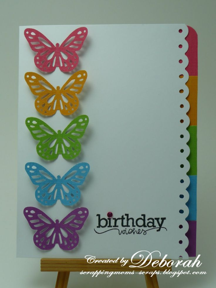 10 best Butterfly Birthday Cards images on Pinterest Happy