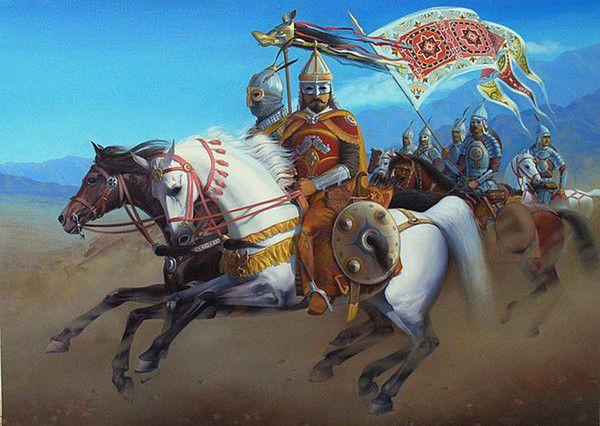 Kök Turk (Tujue) Raiders - Ashina Clan - Gökturks