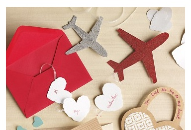 valentine box airplane