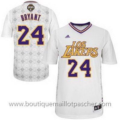 maillot nba pas cher Nuit latine Los Angeles Lakers Bryant #24 nouveaux tissu 22,99€