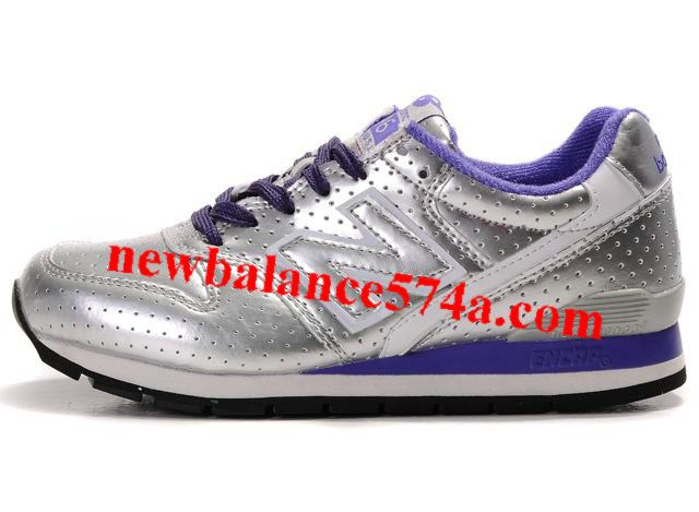 Wholesale Cheap New Balance NB Silver Purple Blue Shoes Fashion Shoes Shop