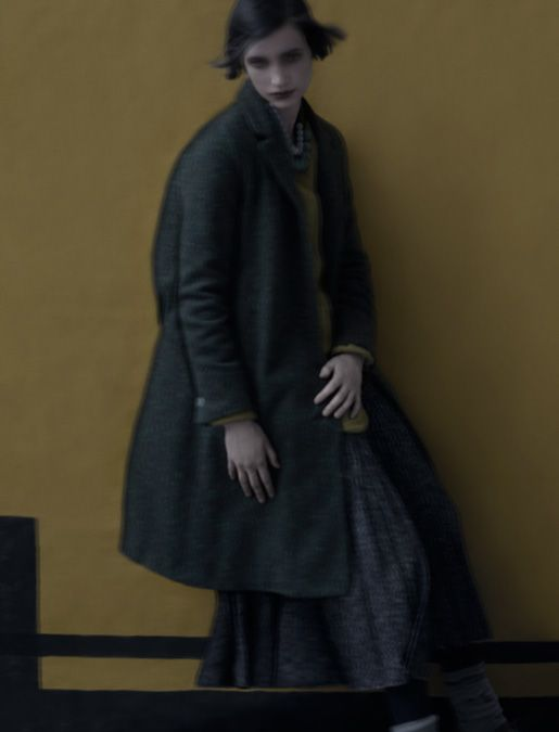 My new fashion crush: Lilith. Here's an image from their Fall/Winter 2013 line. Love the moody layers and fabrics.