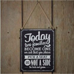 Chalkboard - Two Sides Signs - A Vintage Affair