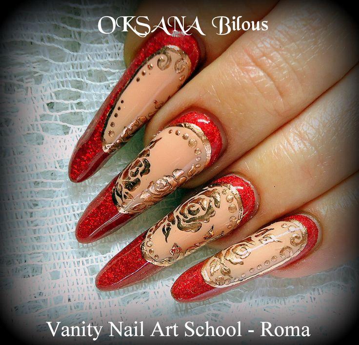 """...colori acrilici per foil e nuovo """" Rosso corallo """"..."""