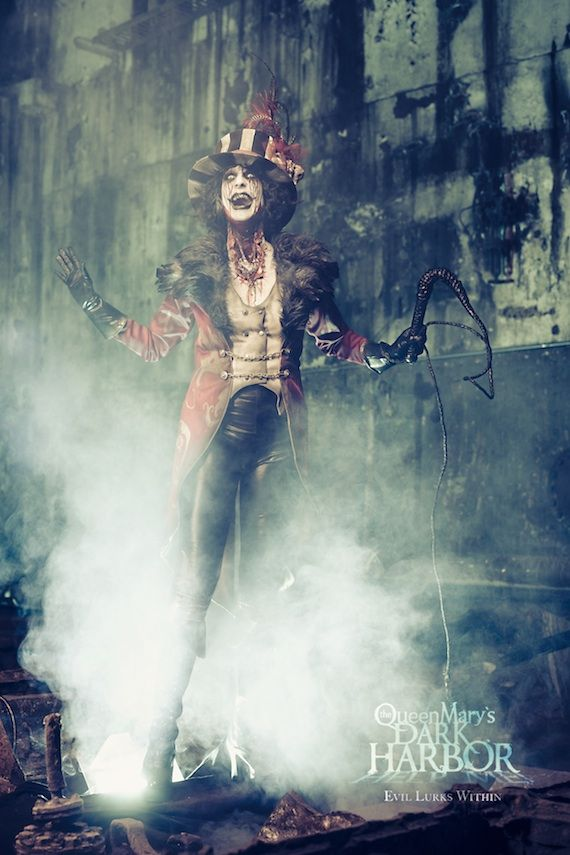 creepy circus ringmaster - Google Search