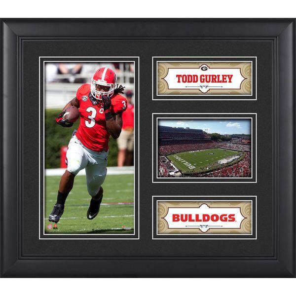 Todd Gurley Georgia Bulldogs Fanatics Authentic Framed 15'' x 17'' Collage - $49.99