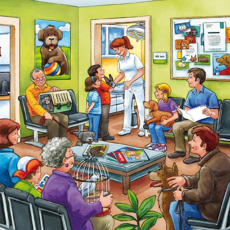 Describing Professions: Vet. Visit: www.emilieslanguages.com or https://www.facebook.com/emilieslanguages #emilieslanguages