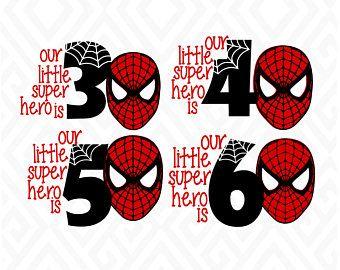 Pin By Ruth Cattlett On Tshirts Spiderman Old Birthday