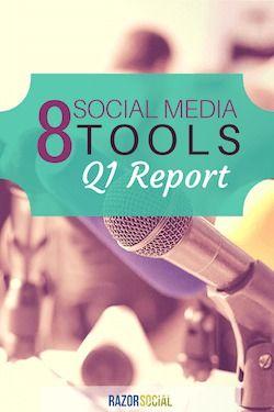 8 Social Media Tools – Q1 Report 2015
