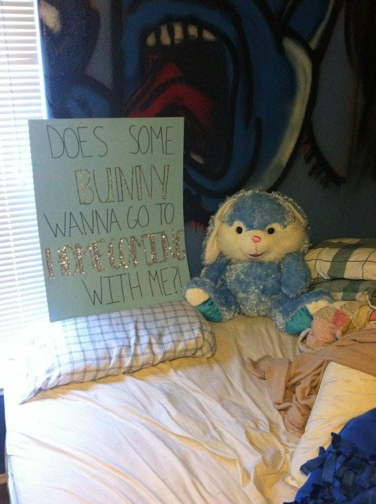 Way to ask someone to homecoming