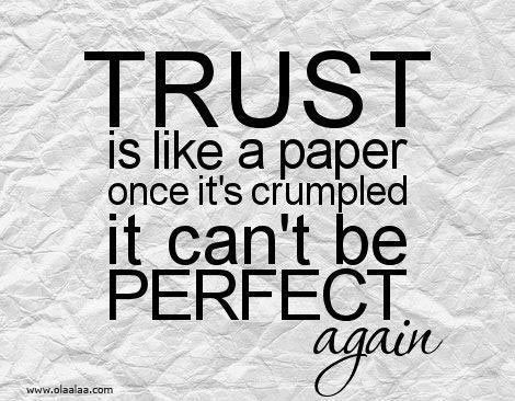 so wahr! Vertrauensbruch ist das schlimmste!