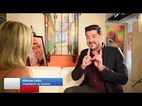 Las predicciones de Alfonso Leon para el 2017 en Mujer Latina USA. Parte 3. - YouTube