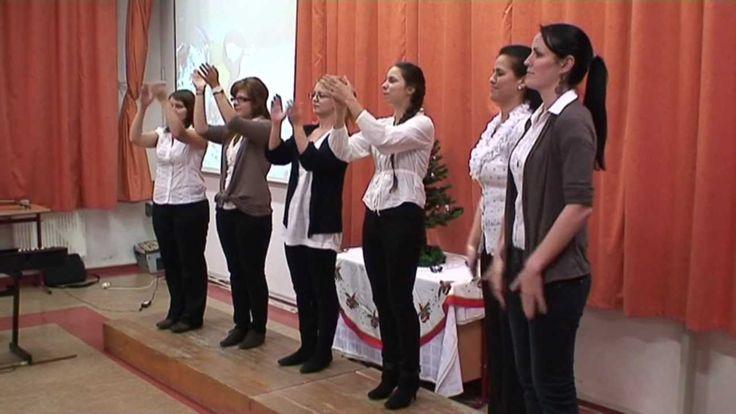 Nyelv- és beszédfejlesztők tapsgyakorlata