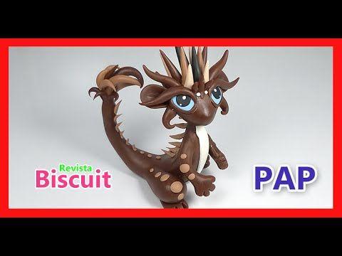 Passo a passo em Biscuit - Dragão