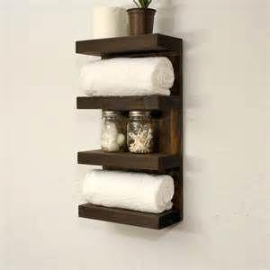 bath bathroom shelves hooks wall bathroom towel rack  tier bath storage floating shelf hotel style
