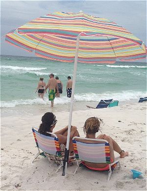 Ng For Your Beach Trip Be Sure To Take A Umbrella Sand Anchor Safety And Comfort Properly Securing Will Ensure You Have