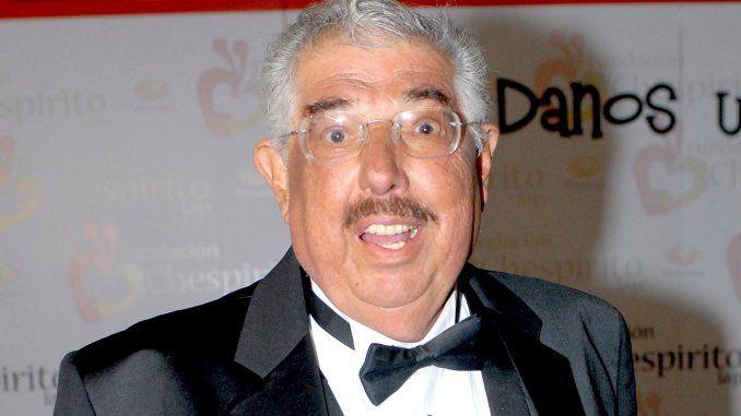 El actor mexicano falleció este viernes a los 82 años. El Profesor Jirafales se encontraba grave y su salud había empeorado en los últimos dias